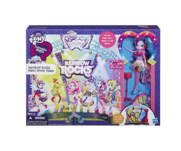 Малкото пони - Кукла Екуестрия комплект
